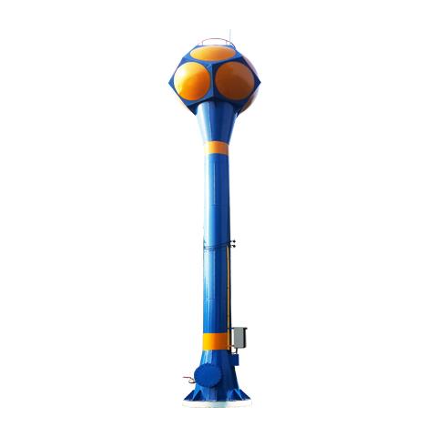 หอถังเหล็กเก็บน้ำทรงลูกบอล/ลูกกอล์ฟ